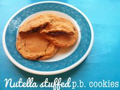 Nutella stuffed Peanut Butter cookies!!!!!!!  From Julie @Joy's Hope