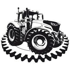 john deer schwarz weiß - Google-Suche Monster Trucks, Vehicles, Google, Monochrome, Searching, Rolling Stock, Vehicle, Tools