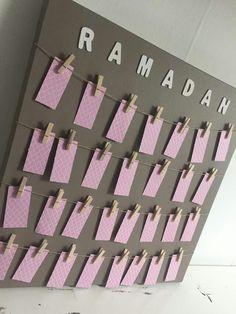 Ramadan calendar (girl version)