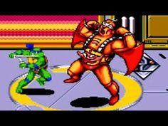 Teenage Mutant Ninja Turtles - The Hyperstone Heist (Genesis) Full Playt...