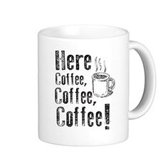 SthAmazing Here Coffee Coffee Coffee Funny Cute Tee Cute Coffee Mugs Travel Coffee Cup >>> Hurry! Check out this great product : Cat mug