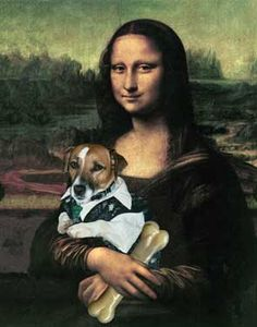 Even Mona loves a JRT!
