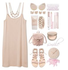 """""""#43 piggy pink"""" by miriam-k ❤ liked on Polyvore"""