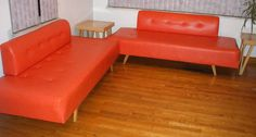 Vintage 1960's Mid-Century Sectional Sofas Daybeds Retro Danish Modern Eames Era in Post-1950 | eBay