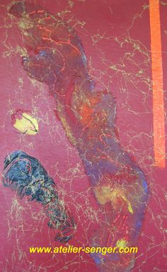 Aspekte der Leidenschaft, 38 x 61 cm. Bitte hier klicken: www.art-senger.com #malerei #kunst #art #leidenschaft