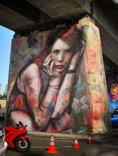 Gus Eagleton for The Pillars Project in Brisbane, Australia #streetart