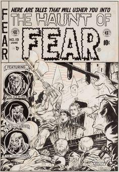 Original Comic Art:Covers, Graham Ingels Haunt of Fear ... Image #1