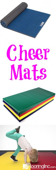 Practice your tumbling, cheer, martial arts and more with your very own Cheer Mat!