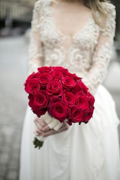 Red rose: http://www.stylemepretty.com/2016/01/28/symbolic-wedding-flower-meaning/