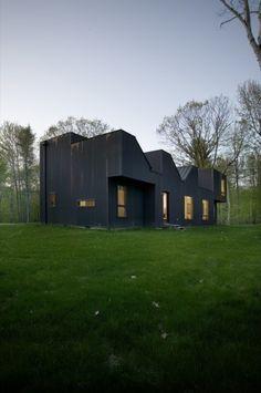 Copper House, Hillsdale, Columbia County, New York, USA by Della Valle Bernheimer.