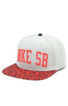 Nike SB Leopard Snapback Hat #pacsun
