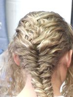 Kore B hair style, Caryatid Hairstyling Project