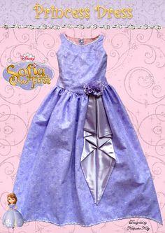 Sofia inspired Princess Dress