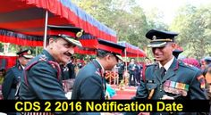 NCC : CDS 2016 Application Form, UPSC CDS II 2016 Apply ...