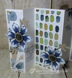 Stamp & Scrap with Frenchie: English Garden One Sheet Wonder Customer Appreciation Panel Card