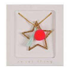 Meri Meri star necklace