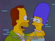 Los Simpsons : Photo Los viejos homero y marge los capos de mi niñez gracias Fox ♡