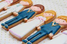 Postreadicción galletas decoradas, cupcakes y pops: Más galletas de comunión