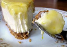 Glazed Lemon Cheesecake  Glorious Goodies