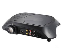 Portable 60 Lumens DVD LED Projector with TV,GAME,USB,SD