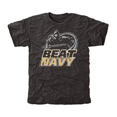 Army Black Knights Beat Navy Tri-Blend T-Shirt - Black - $24.99
