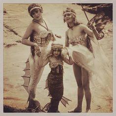 """""""I must be a mermaid, Rango."""" Anaïs Nin Annette Kellerman - Queen of the Sea Fairy Mermaid, Mermaid Beach, Mermaid Skin, Photos Du, Old Photos, Retro Mode, Vintage Mermaid, Mermaids And Mermen, Merfolk"""