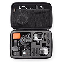 Which is the best GoPro carrying case? We'll look at several GoPro carrying cases and find the one to best meet your needs. Gopro Case, Camera Case, Camera Gear, Dslr Cameras, Camera Hacks, Go Pro, Make Up, Water Photography, Diving