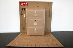 Levis Pop Up Closet