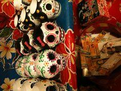 Olvera Street L.A. Sugar skulls