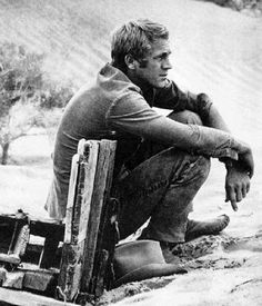 Fight to be the best guy you can be. Pic of Steve McQueen, he went thru some tuff times too.