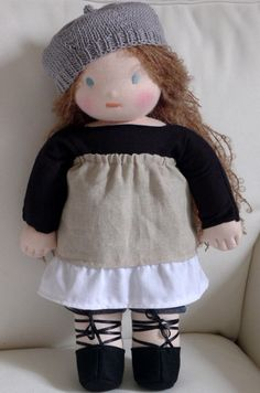Waldorf Doll http://www.etsy.com/listing/113811083/waldorf-doll-in-kit-form-made-in-france?utm_source=Pinterest&utm_medium=PageTools&utm_campaign=Share