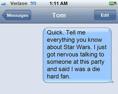 "The ""I Panicked, OK?!"" Text: 