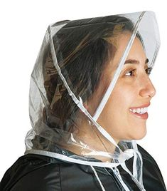 Rain Bonnet, Rain Cap, Plastic Raincoat, Protective Hairstyles, Hats, Womens Fashion, How To Wear, Plastic, Headboard Cover
