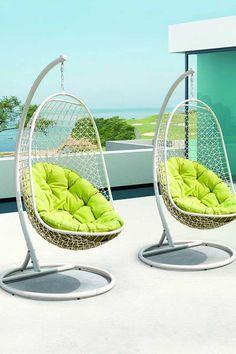 Ghế treo - món nội thất thư giãn siêu lý tưởng cho không gian ngoài trời