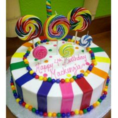 Awesome birthday cake! =)