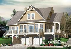 Plan de maison no. W3914-V2 de dessinsdrummond.com