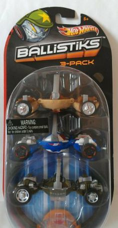 HOT WHEELS BALLISTIKS 3-PACK - POWER SARGE, CAPT'N SPEED & TOP SPEED by HOT WHEELS. $23.99. COLLECT ALL 24!. BALLS TRANSFORM ON IMPACT. 3 PACK SET