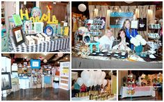 Tons of awesome booth ideas/inspiration from Queen Bee Market
