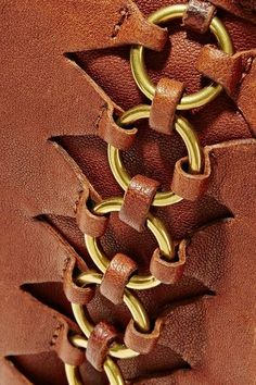 Camel suede (Lamb) Snap-fastening front flap Designer color: Cognac Festival Comes with dust bag Weighs approximately Imported Leather Art, Sewing Leather, Leather Pattern, Leather Design, Leather Tooling, Leather Jewelry, Fabric Manipulation Techniques, Leather Projects, Leather Accessories