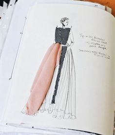 Fashion Design Sketchbook - fashion drawing, fashion sketching, fashion portfolio // Alison McEvoy Más- Tap the link now to see our super collection of accessories made just for you Sketchbook Layout, Textiles Sketchbook, Fashion Design Sketchbook, Fashion Design Portfolio, Fashion Design Drawings, Fashion Sketches, Drawing Fashion, Fashion Illustrations, Design Illustrations