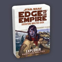 Star Wars: Explorer Signature Abilities Specialization POD   Book cover and interior art for Star Wars RPG - Roleplaying Game, Role Playing Game, Living Card Game, LCG, d20, d6, Open Game License, OGL, Fantasy Flight Games, FFG, Fantasy Flight Publishing Inc.   Create your own roleplaying game books w/ RPG Bard: www.rpgbard.com   Not Trusty Sword art: click artwork for source