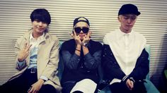 Onew, Jonghyun and Taemin are on MBC Younha's Starry night radio as special guest.