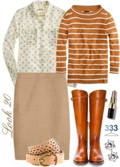 """""""Project 333/Phase 6/Winter 2012- Look 20"""" by jcrewchick ❤ liked on Polyvore"""