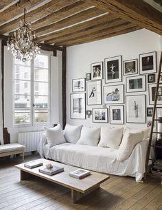 El apartamento parisino del fotógrafo Matthew Brookes.