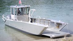 Munson Boats 28-59 Utility Best Fishing Boats, Fishing Pontoon, Landing Craft, Ferry Boat, Boat Projects, Aluminum Boat, Diy Fire Pit, Tool Sheds, Boat Dock