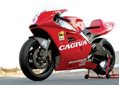 Cagiva V593. Best looking GP bike of all time.