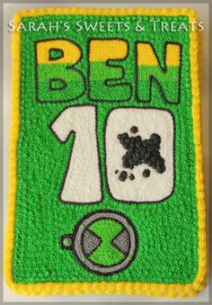 Ben 10 Cake for Ethan's 5th birthday