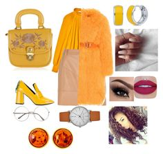 """❤️🌞🥀"" by ralucanitescu on Polyvore featuring TIBI, River Island, Saks Potts, Coliàc Martina Grasselli, BERRICLE, Jeffree Star, Ted Baker and Be-Jewelled"