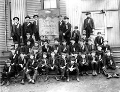 Seattle Newsboys Union, ca. 1907