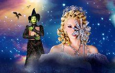 Ana Cecilia Anzaldúa (Elphaba) & Majo Pérez (Glinda) - Wicked México